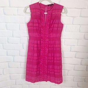 Nanette Lepore Hot Pink Sleeveless Shift Dress